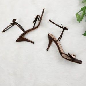 Prada Floral heels